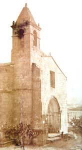 El antiguo campanario de la iglesia de Santiago, desde el que se tocaba la prima (Foto: Martínez Santiso. Archivo del autor)