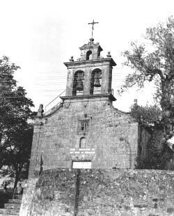 Iglesia parroquial de Santo Tomé de Bemantes, recientemente restaurada