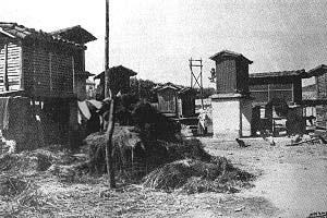 La Galera a principios del siglo XX, por Ksado