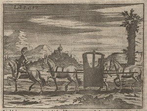 Litera. Grabado de Wolf Helmhardt von Hohberg (1695)