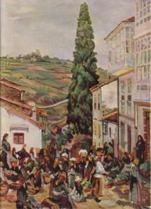 Plaza de la verdura, del Pintor Seijo Rubio