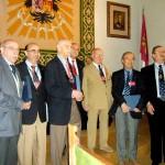Entrega de la placa de plata de la RAECO, por los 25 años activos en la Asociación. Toledo, 20 de octubre de 2007.