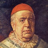 Retrato del Cardenal Payá, por Román Navarro (detalle)