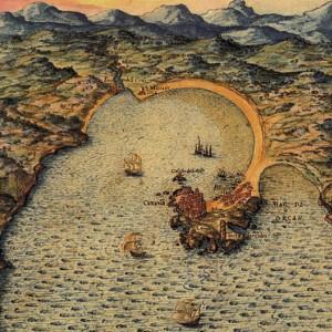 Bahía de La Coruña - Pedro Teixeira, 1634
