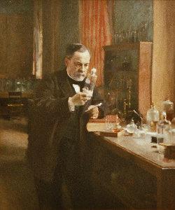 Louis Pasteur, por Albert Edelfelt