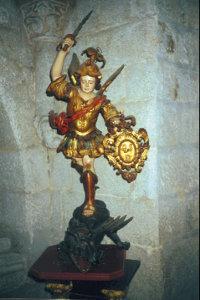 San Miguel, patrono de los mareantes (Foto del autor)