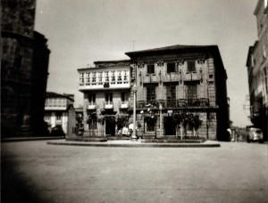 Ayuntamiento de Betanzos. Foto del Autor (1965)