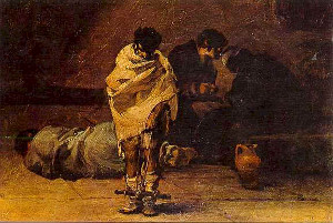 Confesiones en la cárcel, de Francisco de Goya