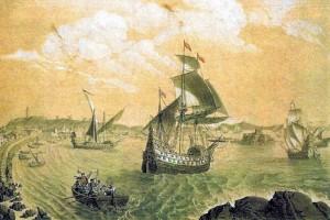 Puerto de La Coruña, 1525
