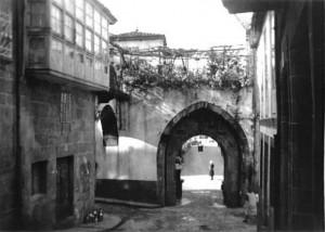 Arco del Puente Nuevo. Foto del Autor (1965)