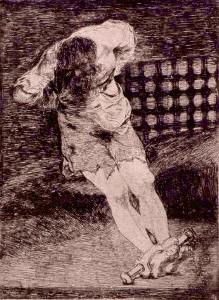 La seguridad de un reo no exige tormento - Francisco de Goya