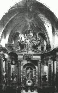 Retablo de Ferreiro, quemado en 1936