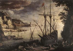 El Puerto, de Paul Brill (1611)