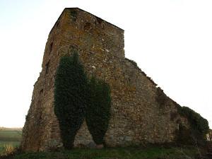 Estado actual de la fortaleza da Pobra de Burón. Foto: Janofonsagrada