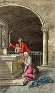 Ofrenda a la Virgen de Guadalupe - Giulio Ferrario