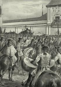 Proclamación de Luis I. Archivo del autor.