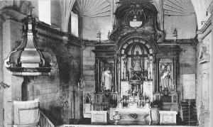 Retablo de Nuestra Señora del Camino. Archivo del autor.