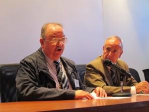 El cronista de Betanzos en su intervención. Foto: Antonio Ortega.