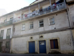 """Actual """"casa de la Mina"""", fachada principal a la calle de La Ribera."""