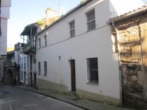 """Actual """"casa de la Mina"""", fachada posterior a la calle de Sobre la Muralla."""
