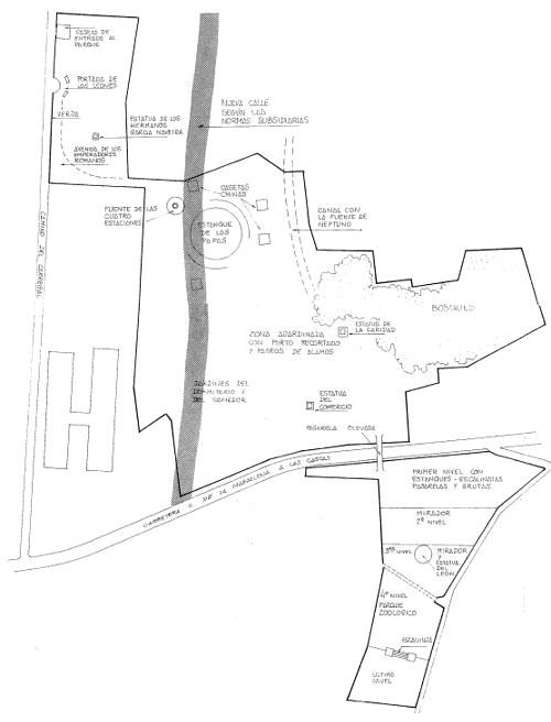 Plano del Pasatiempo. Archivo del autor.