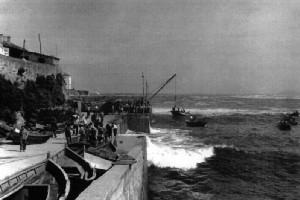 Puerto de Caión. Fuente: Concello de Laracha.