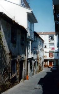Actual calle de Noas, antigua calle das Moas
