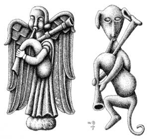 Dibujos de Xosé Antón.