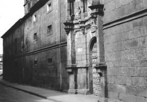 Fachada del convento de las Madres Agustinas Recoletas