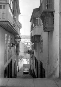Calle del Oro, circa 1980.