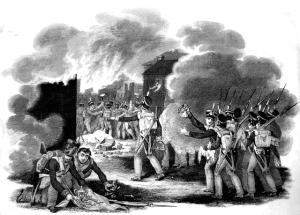 Grabado por Thomas Kelly, 31 de marzo de 1816