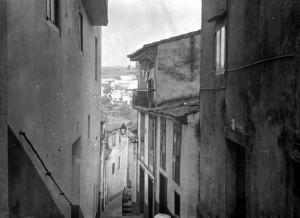 Calle de los Sombrereros, circa 1970. Archivo del autor.