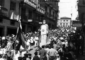 Desfile cívico de la Función del Voto. Foto Rey. Archivo del Autor.