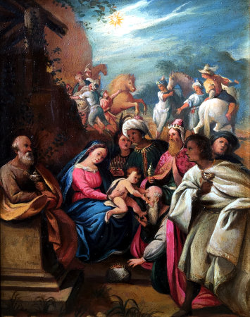 Adoración de los Reyes