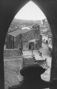 La iglesia de Santa María desde el campanario de San Francisco. Foto Gabín.