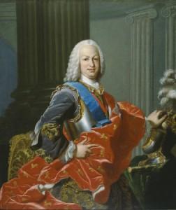 Retrato del rey Fernando VI
