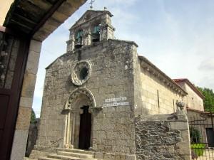 Iglesia parroquial de San Pantaleón das Viñas. Foto del autor.