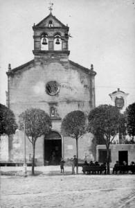 La Capilla de San Roque hace cien años, foto Ferrer.