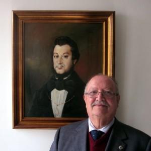El cronista y su cuarto abuelo, D. Antonio María Varela