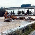La entrada al Pasatiempo, ya destruida para la construcción de un aparcamiento. Foto del autor.