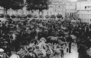 El Campo de la Feria a principios del siglo pasado. Archivo del autor.