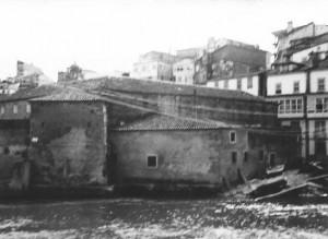 El embarcadero de las monjas en 1950. Archivo del autor.