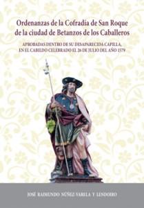 Portada de las Ordenanzas de la Cofradía de San Roque, obra del autor y disponible en este sitio web para su descarga.