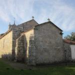 Ábside de la iglesia de San Salvador de Villozás. Foto del autor.